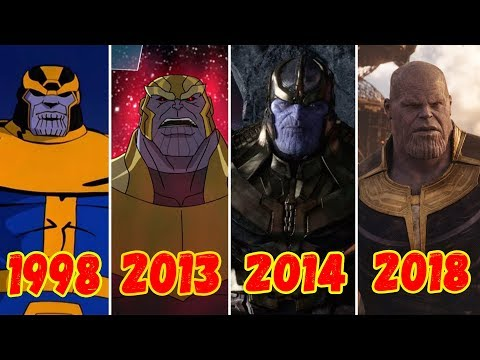 Эволюция Таноса (1998-2018)