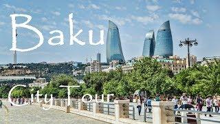 Baku City Travel Tour / Baki Şəhərlərin Kicik Tur Gəzintisi - Azerbaijan / Azerbaycan - Part 1