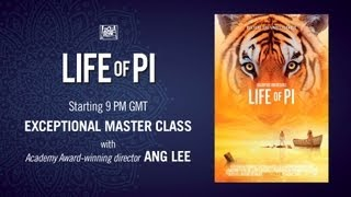 Life of Pi - Live Film making masterclass with Life Of Pi director Ang Lee