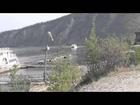 Dawson City Yukon Canada - Traveling up the Yukon River........