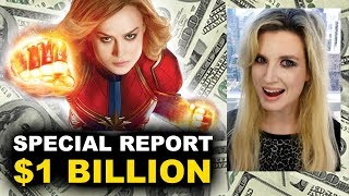 Captain Marvel Billion Dollars - Box Office