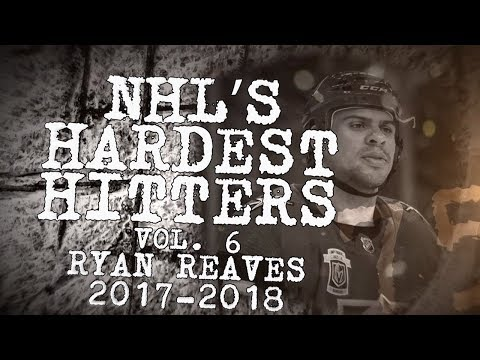 Biggest Ryan Reaves Hits of 2018  NHLs Hardest Hitters