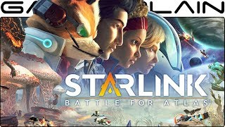 1 Hour of Star Fox in Starlink: Battle for Atlas! - Game & Watch (Nintendo Switch)