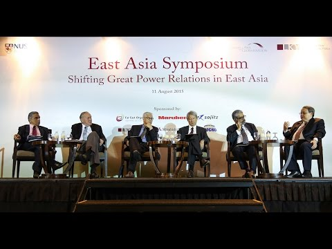 East Asia Symposium: Shifting Great Power Relations in East Asia