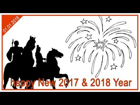 Атырау и много фейрверков на новый год. (2016 - 2017 / 2017 - 2018)