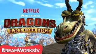 A New Dragon Revealed: The Armor Wing | DRAGONS: RACE TO THE EDGE