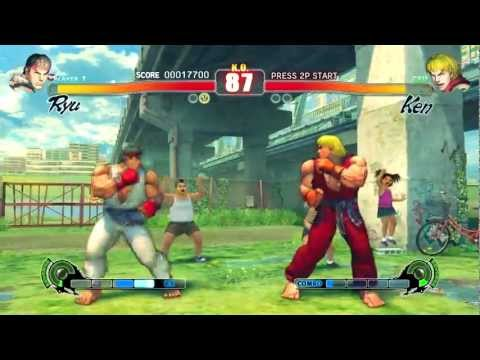 Street Fighter Iv (1920x1080 - 16xaa) - Gtx 570 - Gameplay Pt.1