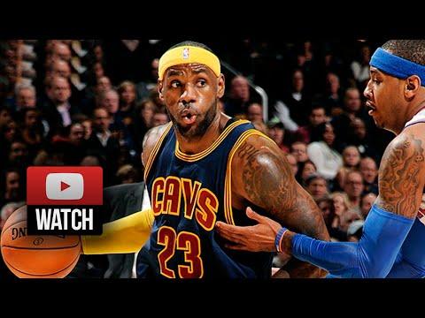 Lebron James Full Highlights vs Knicks (2014.10.30) - 17 Pts, Homecoming!