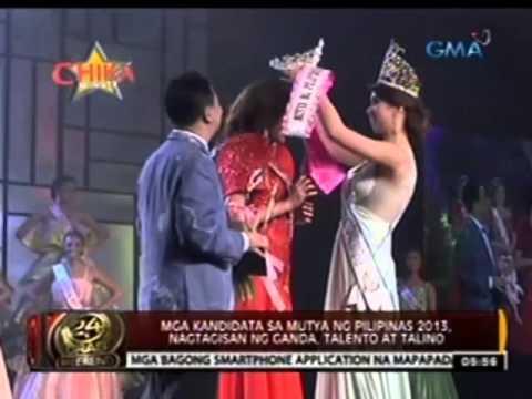24 Oras: Mga kandidata sa Mutya ng Pilipinas 2013, nagtagisan ng ganda, talento at talino