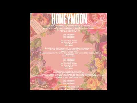 LANA DEL REY - HONEYMOON