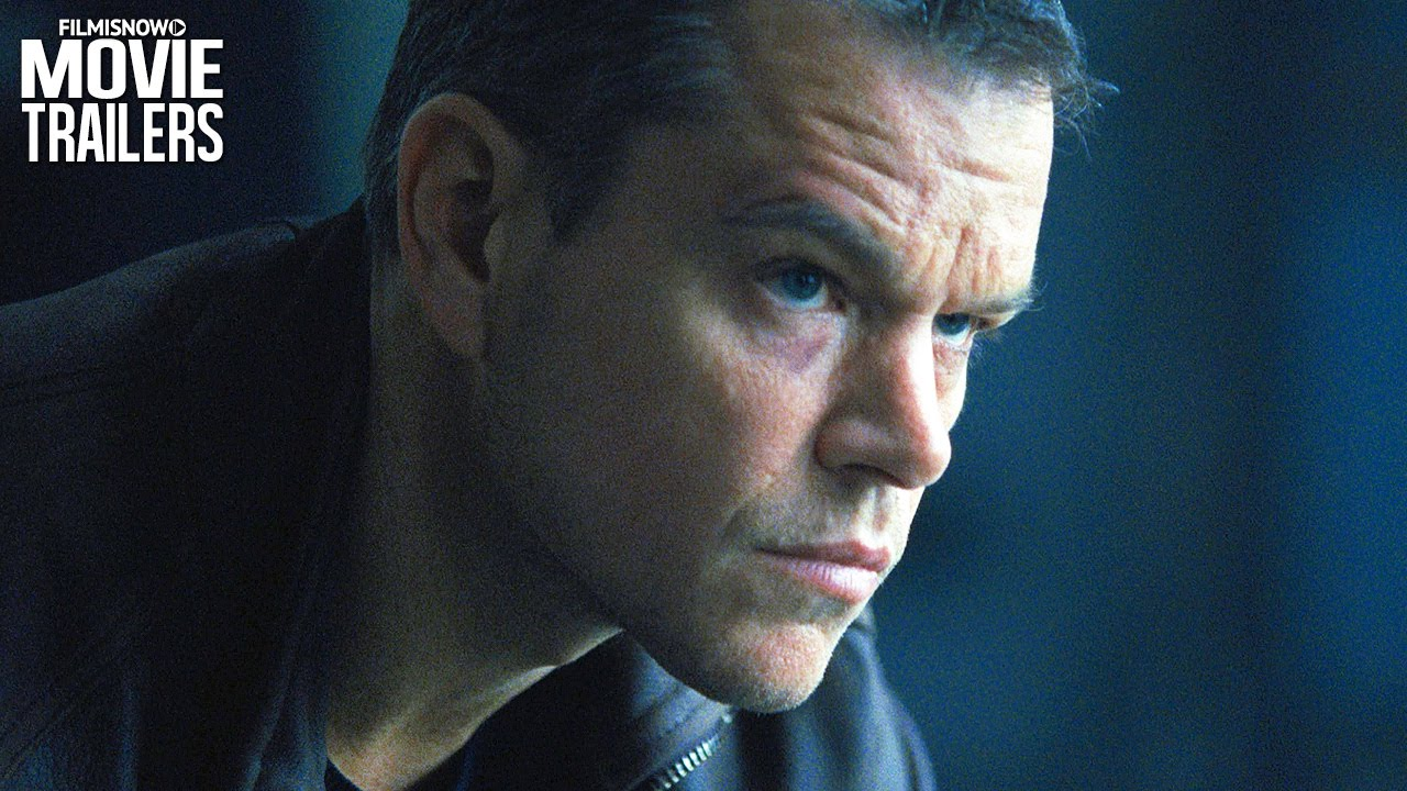 Matt Damon is drawn out of the shadows in NEW full trailer for JASON BOURNE [HD]