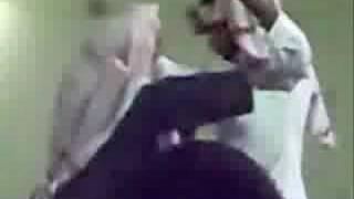 شايب يرقص بعرس بنتة