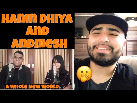 """Download Reacting to Hanin Dhiya and Andmesh """" A Whole New World """" Mp4 baru"""