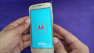 Motorola Moto E4 como que aplica o hard reset de fábrica