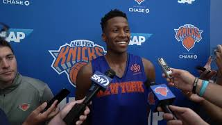 Knicks Training Camp 2019: Frank Ntilikina Speaks on Day 2