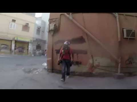 Jan 5 2015 Attack on Hamad from Reuters and I in Bilad Al Qadeem - Bahrain