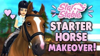 Star Stable New Starter Horse Makeover! ??