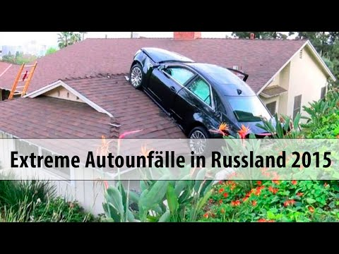 Extreme Autounfälle in Russland - Videos 2015