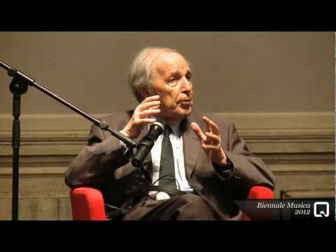Biennale Musica 2012 – A meeting with Pierre Boulez