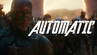 MARVEL MUSIC VIDEO - [GMV] AUTOMATIC - #AVENGERS  #fanvidfeed