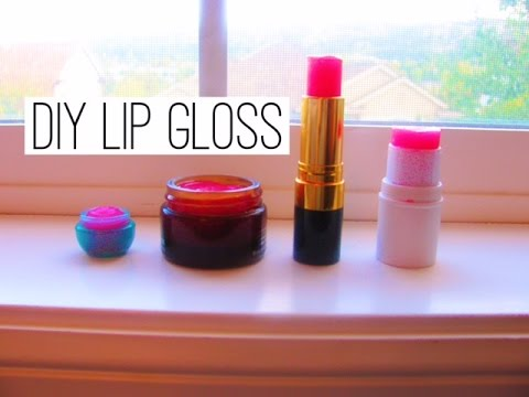 how to make lip gloss at home with vaseline