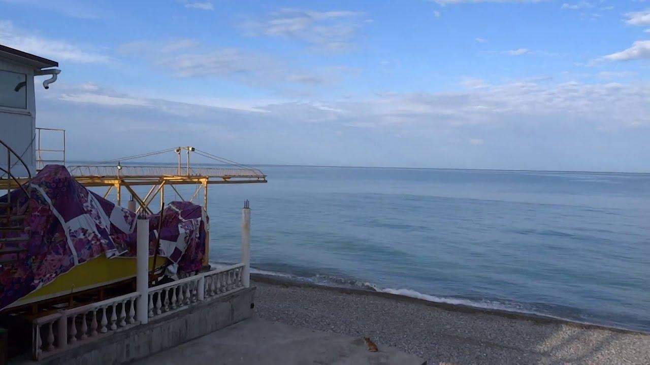 Пляж дельфин в лазаревском фото 2018
