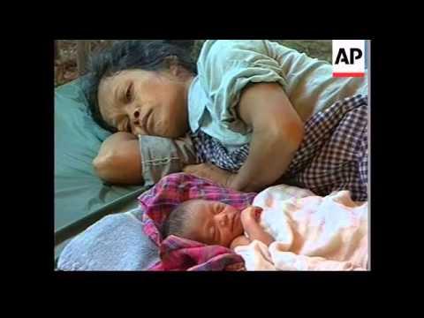 Thailand/Cambodia - Khmer Rouge refugees