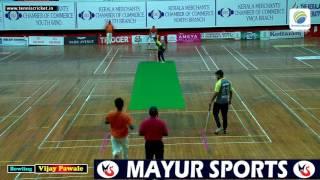 Vijay Pawale Bowling In KMCC 2016, Kerala Indoor Cricket Tournament