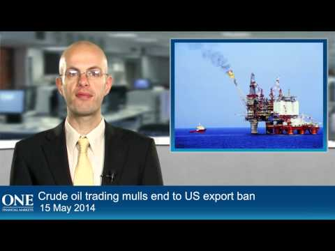 Crude oil trading mulls end to US export ban
