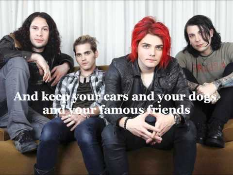 My Chemical Romance - Party Poison • with lyrics on screen