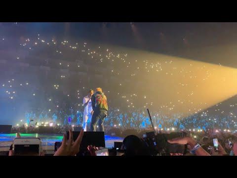 Travis Scott Brings Out Ed Sheeran (ANTISOCIAL LIVE AT LONDON O2 ARENA 16/07/2019 HD)