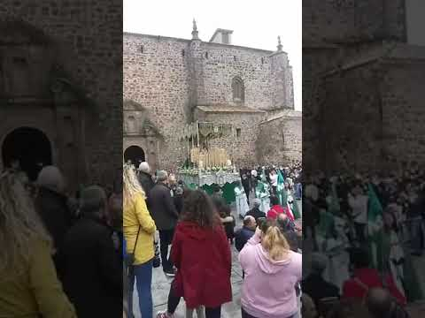 Salida procesión del Santo Calvario en Puertollano