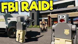 LEGO FBI AGENT RAID IN LEGO CITY! - Brick Rigs Roleplay Gameplay - Lego Job Simulator
