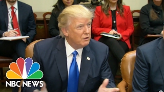 President Trump: I'll Push Mitch McConnell To 'Go Nuclear' If SCOTUS Vote Deadlocked | NBC News