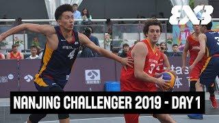 LIVE 🔴 - FIBA 3x3 Fountask Nanjing Challenger 2019 - Day 1 - Nanjing, China