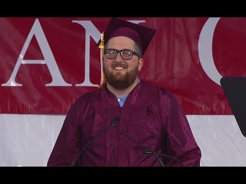 Dean College 2014 Commencement - Caleb Dolman