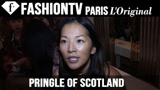 Pringle of Scotland Front Row Spring/Summer 2015 | London Fashion Week | FashionTV