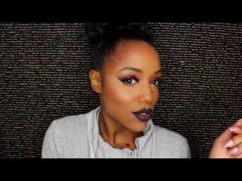 Vamp Glam with Melt Cosmetics + Full Face Makeup Tutorial