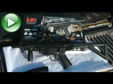 REVIEW: H&K MP5 PDW 4.5mm BB Replica Air Gun - Umarex