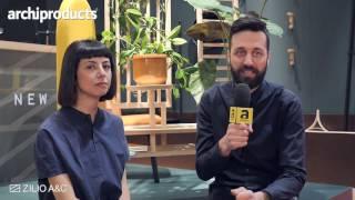 Salone del Mobile.Milano 2017 | ZILIO A&C - Dossofiorito ci racconta Etta, la panca divisorio