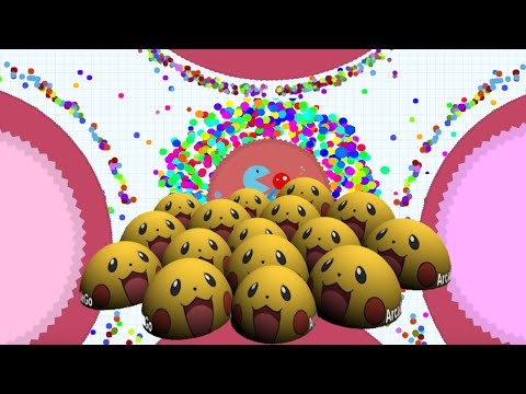 3D AGARIO Clone Biome3D 1st Place Challenge Agario EXPERIMENTAL MODE 1st Place Agar.io Funny Moments