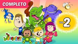 Desenho Animado Infantil Jacarelvis Vol.02 (Completo) ♪♫