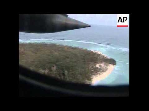 Australian airforce aerials + Honiara reax