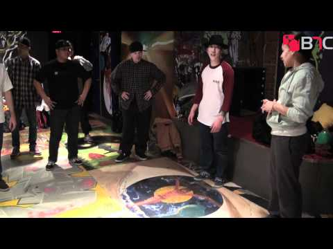 Born's Workshop at New York City Arts Cypher | B-Boy Network Channel