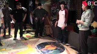Borns Workshop at New York City Arts Cypher | B-Boy Network Channel