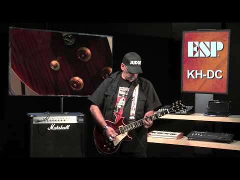 Les Audiences de Judge Fredd - ESP KH-DC Kirk Hammett (La Boite Noire)