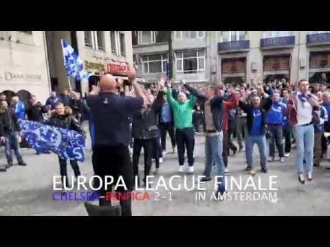 CHELSEA WINT EUROPA LEAGUE FINALE MET 2-1 VAN BENFICA