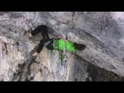 Adam Ondra climbs Open Air 9a+ / www.EuroClimbing.com