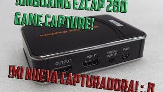 ¡Especial 13 000 subscriptores! Nueva capturadora Eazcap 280 FULL HD 1080p