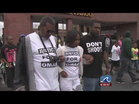 Friends Of Officer-killed Omar Walk For Justice video